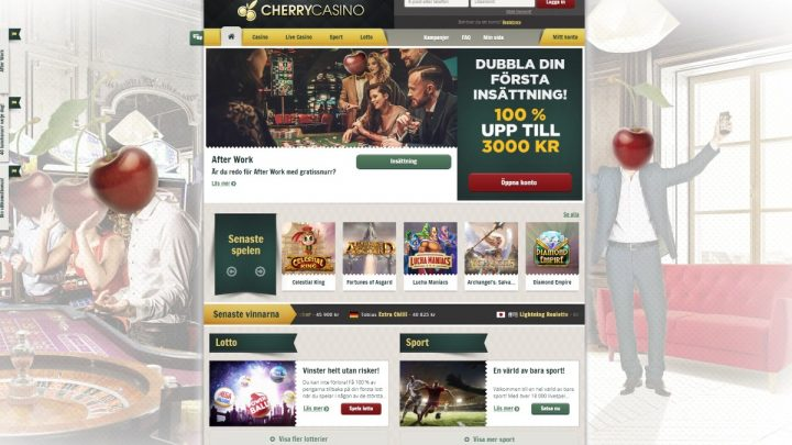 Spelrecension – 500 kr på Cherry Casino